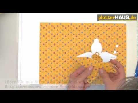 Papierarbeiten - Video auf YouTube