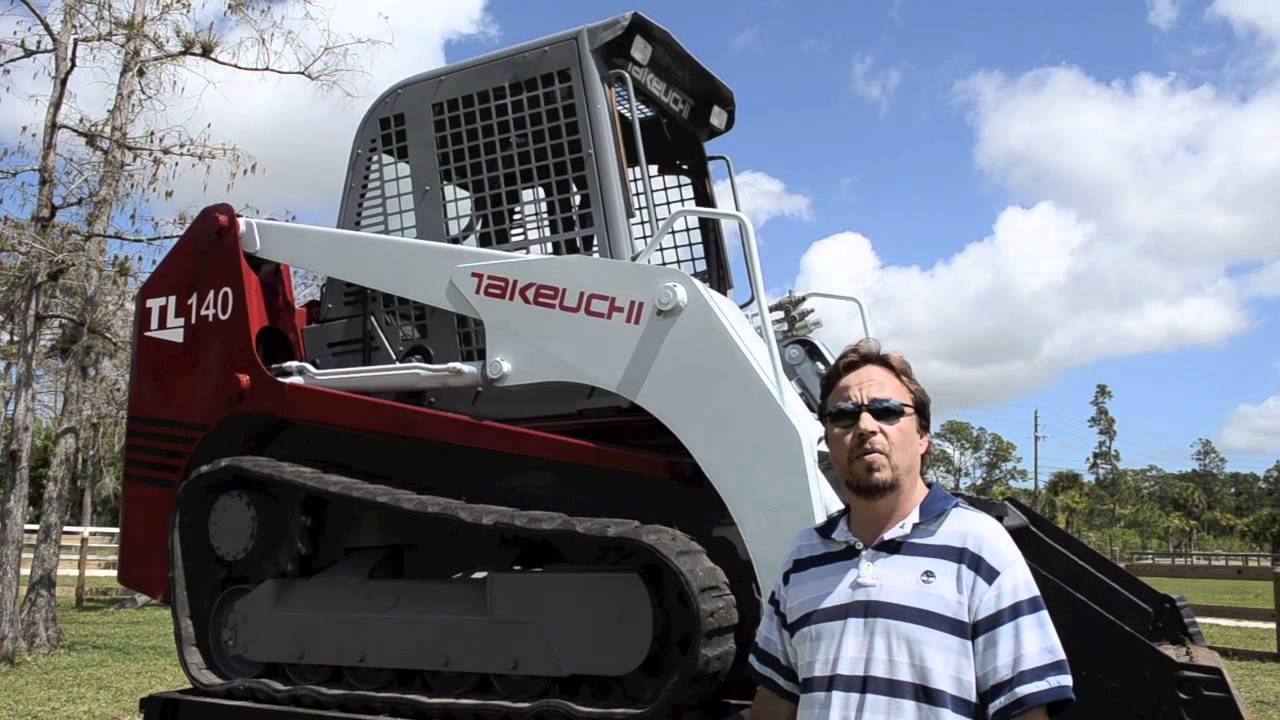 2006 Takeuchi TL140 for sale by Ironlink Inc West Palm Beach Florida