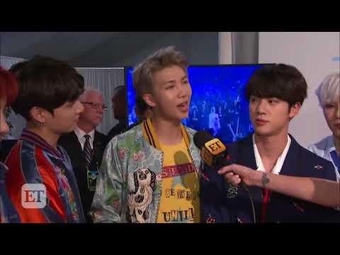 ET: BTS Reveals What Their 'Dream' American Music Awards Performance Experience Was Like