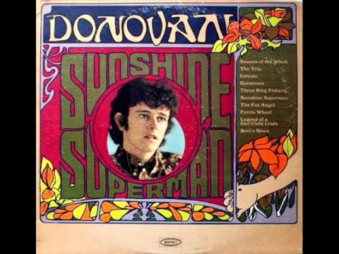 Three King Fishers by Donovan on 1966 Mono Epic LP.