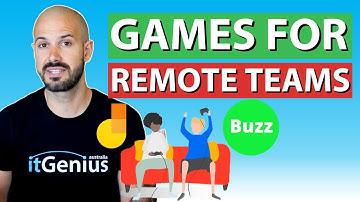 Best Online Games for Remote Work Teams | Zoom & Google Meet