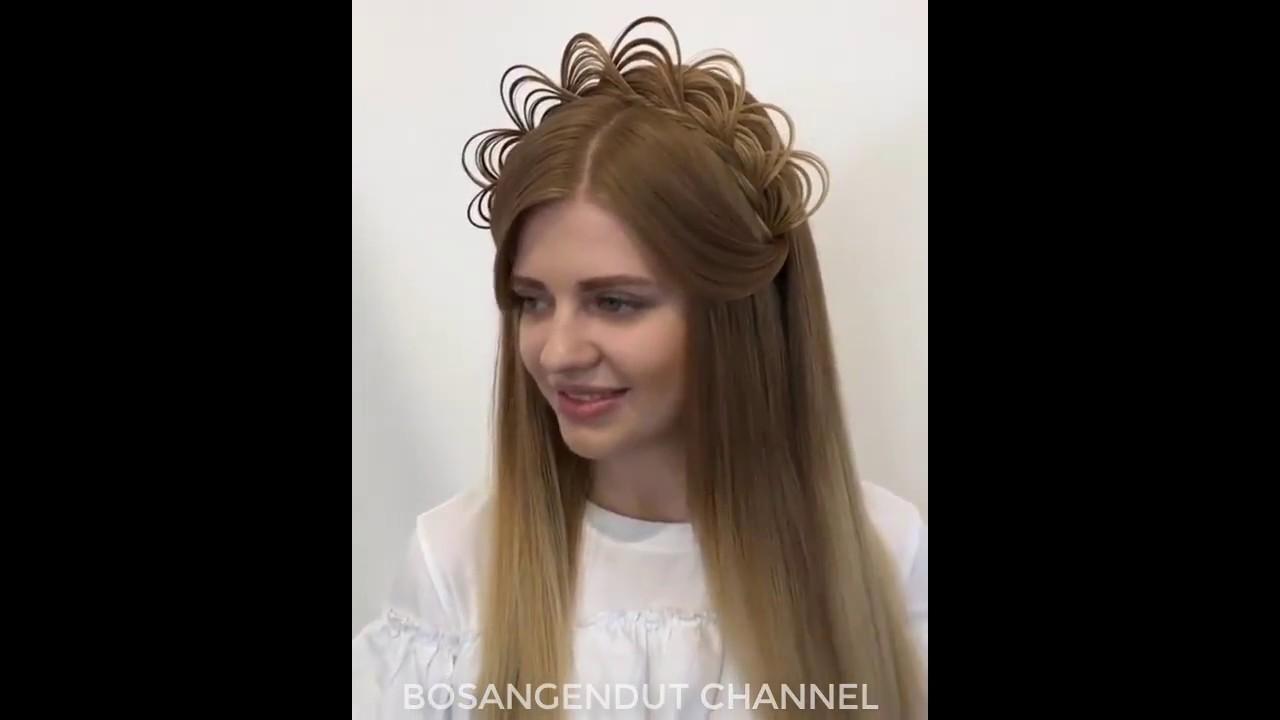 OMG! Wonderful hairstyles, Amazing Transformation 2017 - YouTube