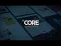 THE CORE WordPress Theme - Video Presentation