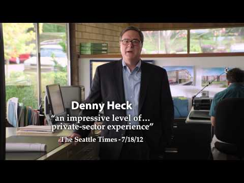 """Business"" - Denny Heck's Second TV Ad"