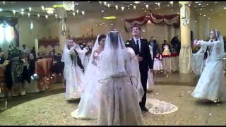 Встреча молодых.Свадьба в Дагестане