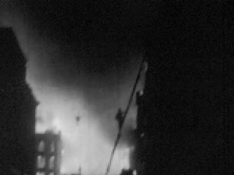 V2 rocket attacks on London during World War II