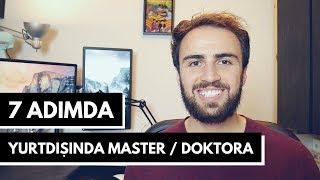7 Adımda Yurtdışında Master & Doktora
