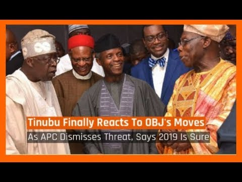 Nigeria News Today: Tinubu Reacts To Obasanjo's Moves As APC Dismisses Threat (02/02/2018)
