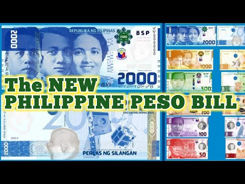 New Philippine Peso Bills | Enhanced Philippine Peso Bill