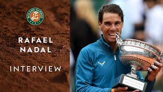 "Rafael Nadal : ""Why RG is very special ?"" 