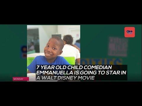 Accelerate News- Nigerian Child Comedian Emmanuella Set To Star In A Disney Movie