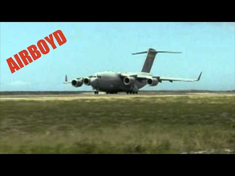 C-17 Taking Off From Hickam Air Force Base