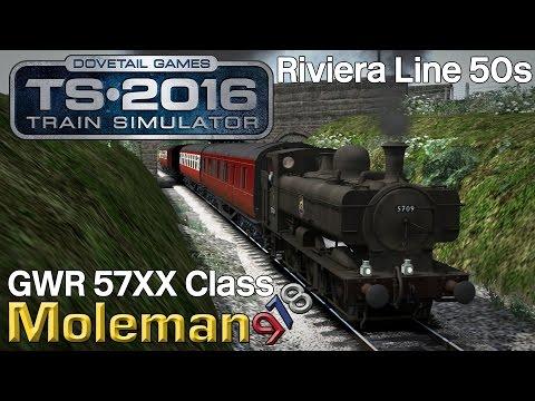 Train Simulator 2016 | GWR 5700 Class Pannier Tank | Riviera 50s