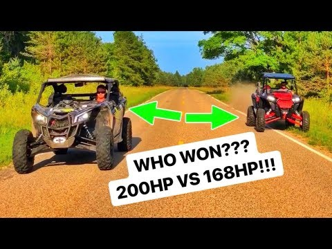 He BOUGHT A NEW Polaris RZR TURBO DYNAMIX VS 200 HP Maverick X3!