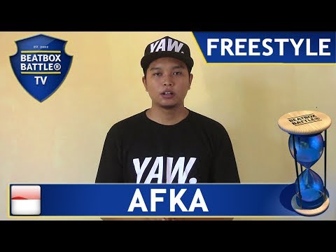 Afka from Indonesia - Freestyle - Beatbox Battle TV