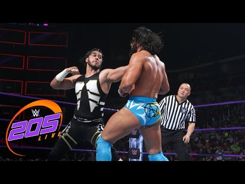 Mustafa Ali vs. Tony Nese: WWE 205 Live, April 25, 2017