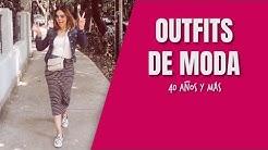 Outfits Modernos 40 Años y Más   Cuarentonas y Felices