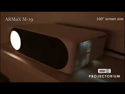 FIRST LOOK | ARMaX M-19 TRUE NATIVE 1080P PROJECTOR DEMO VIDEO