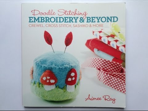 Вышивка. Обзор рукодельного журнала Embroidery&Beyond.