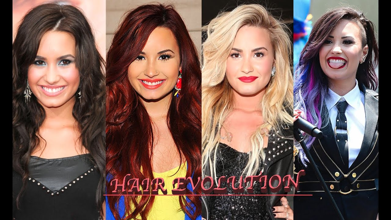 Demi Lovato Hair Evolution Youtube