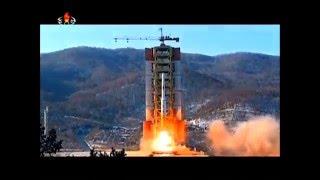 北朝鮮 ミサイル「光明星4号」の発射映像