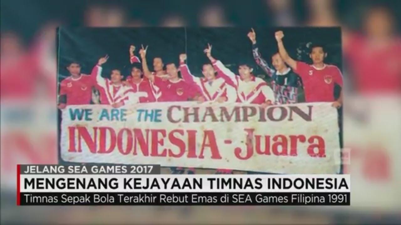 Mengenang Kejayaan Timnas Indonesia