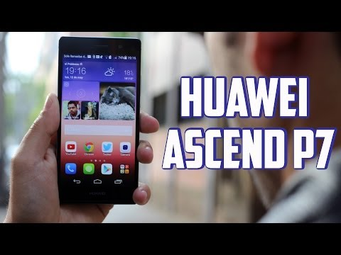 Huawei Ascend P7, Review en español