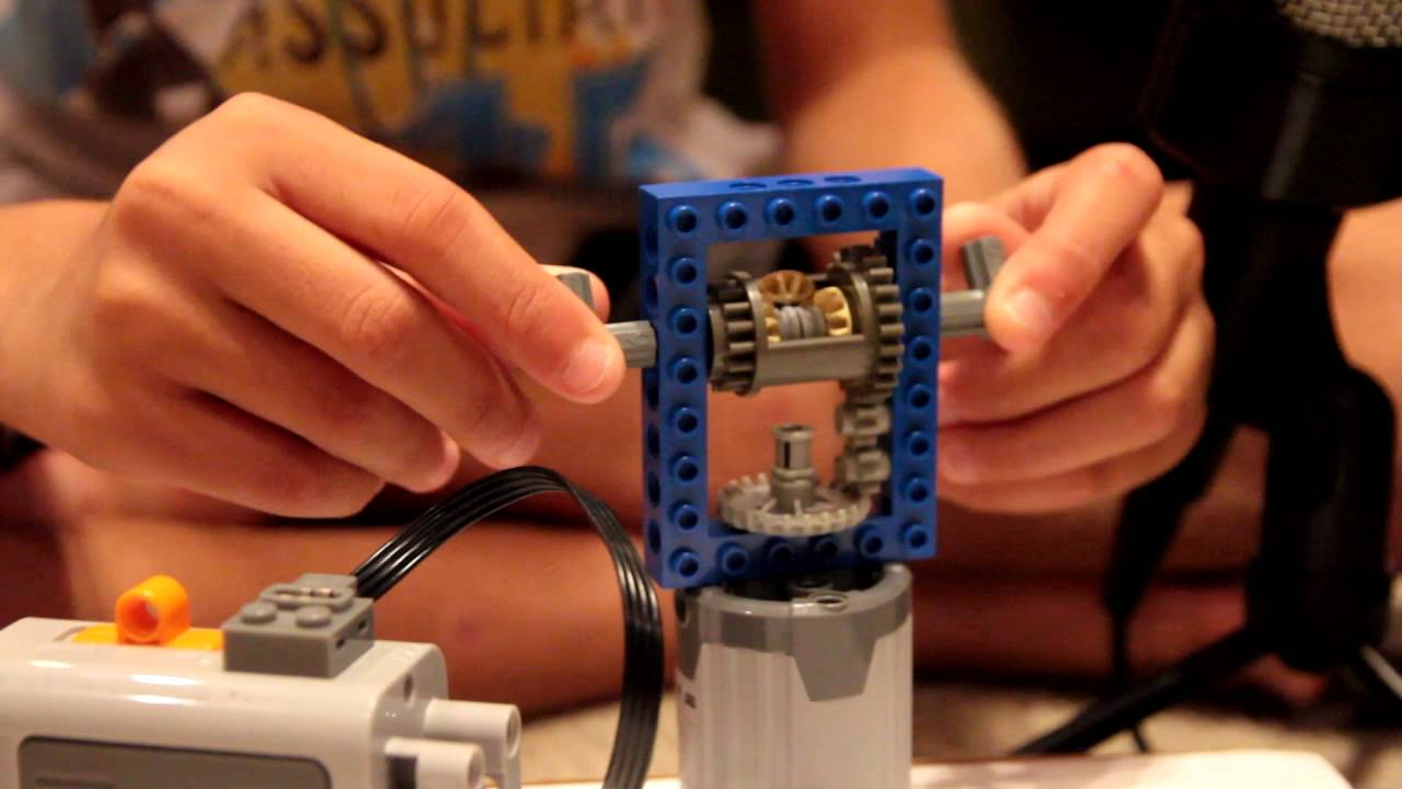 Lego Differential Gear with Motor
