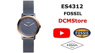 ES4312 Fossil Neely Blue Stainless Steel ...... DCMStore