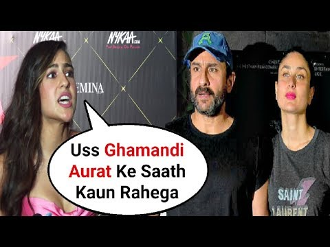 Sara Ali Khan Sh0cking Reaction On Moving To Kareena Kapoor And Saif Ali Khan House