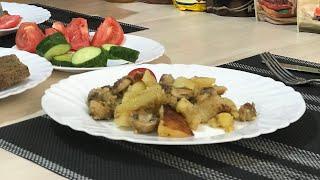 Жареная картошка с грибами в Мультиварке PHILIPS HD 4734 . Что приготовить на ужин .