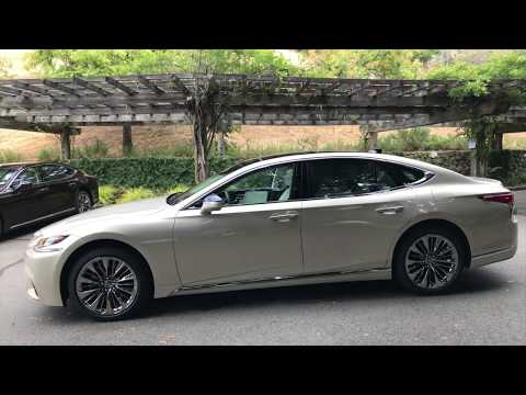 2018 Lexus LS 500 and LS 500h Introduction – Walkaround