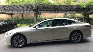 2018 Lexus LS 500 and LS 500h Introduction - Walkaround