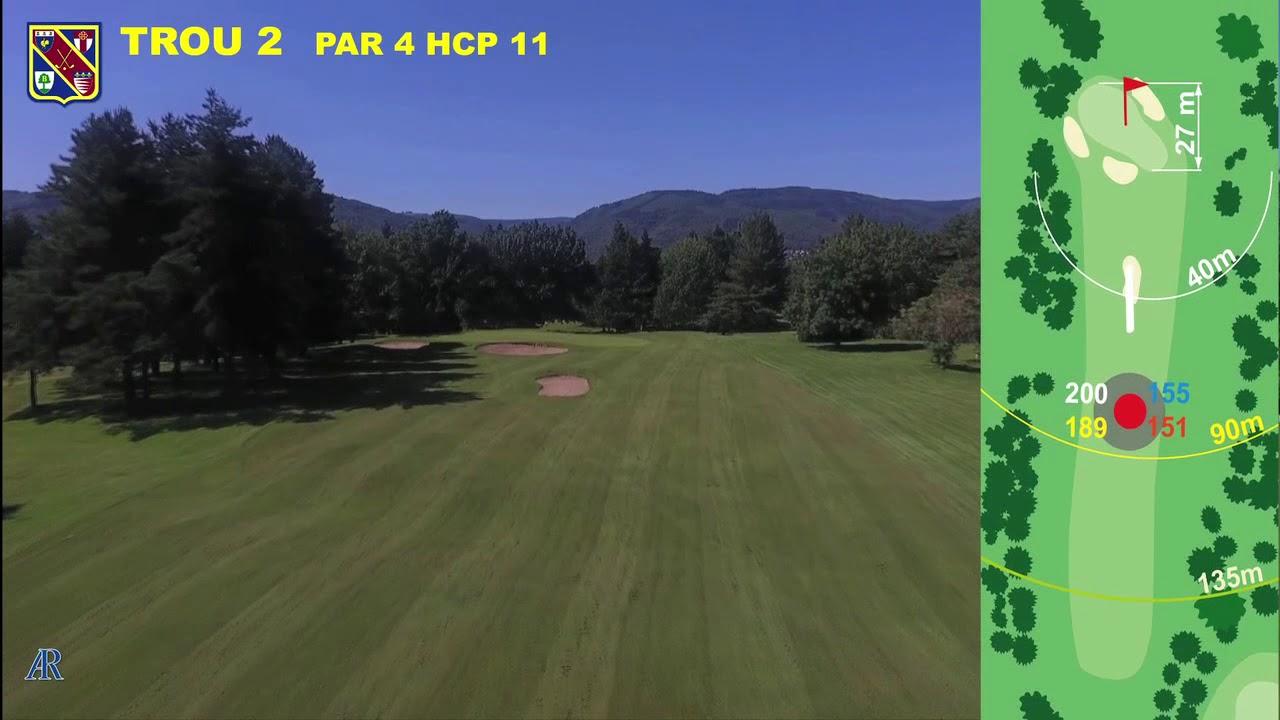Vidéo du trou numéro 2 | Golf La Barouge Mazamet