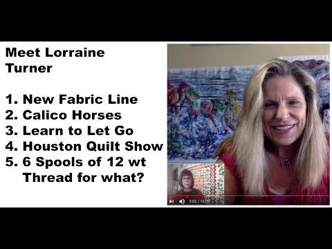 Meet Lorraine Turner - Textile Artist