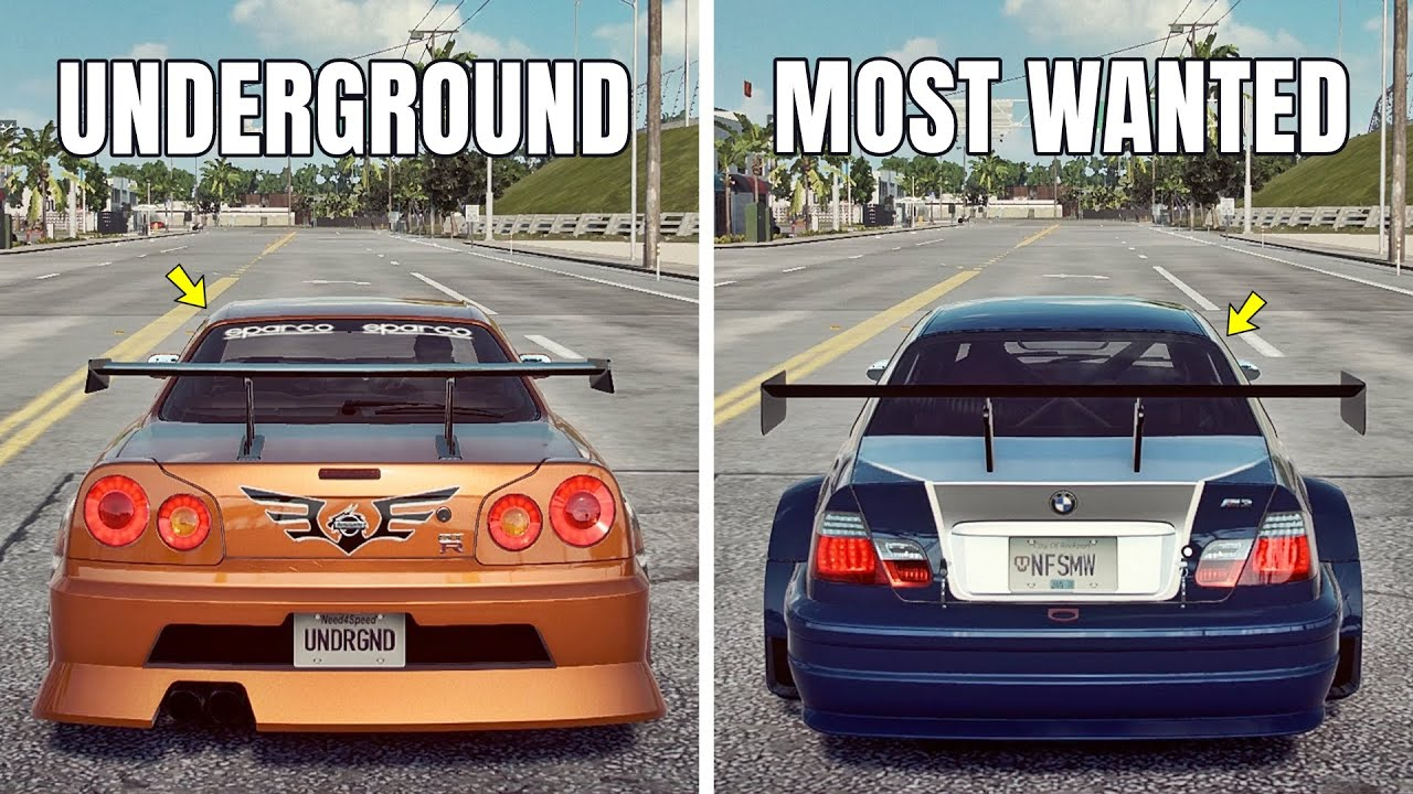 NFS Heat: MOST WANTED BMW M3 E46 GTR LE VS UNDERGROUND NISSAN SKYLINE GT-R R34 (WHICH IS FASTEST?)