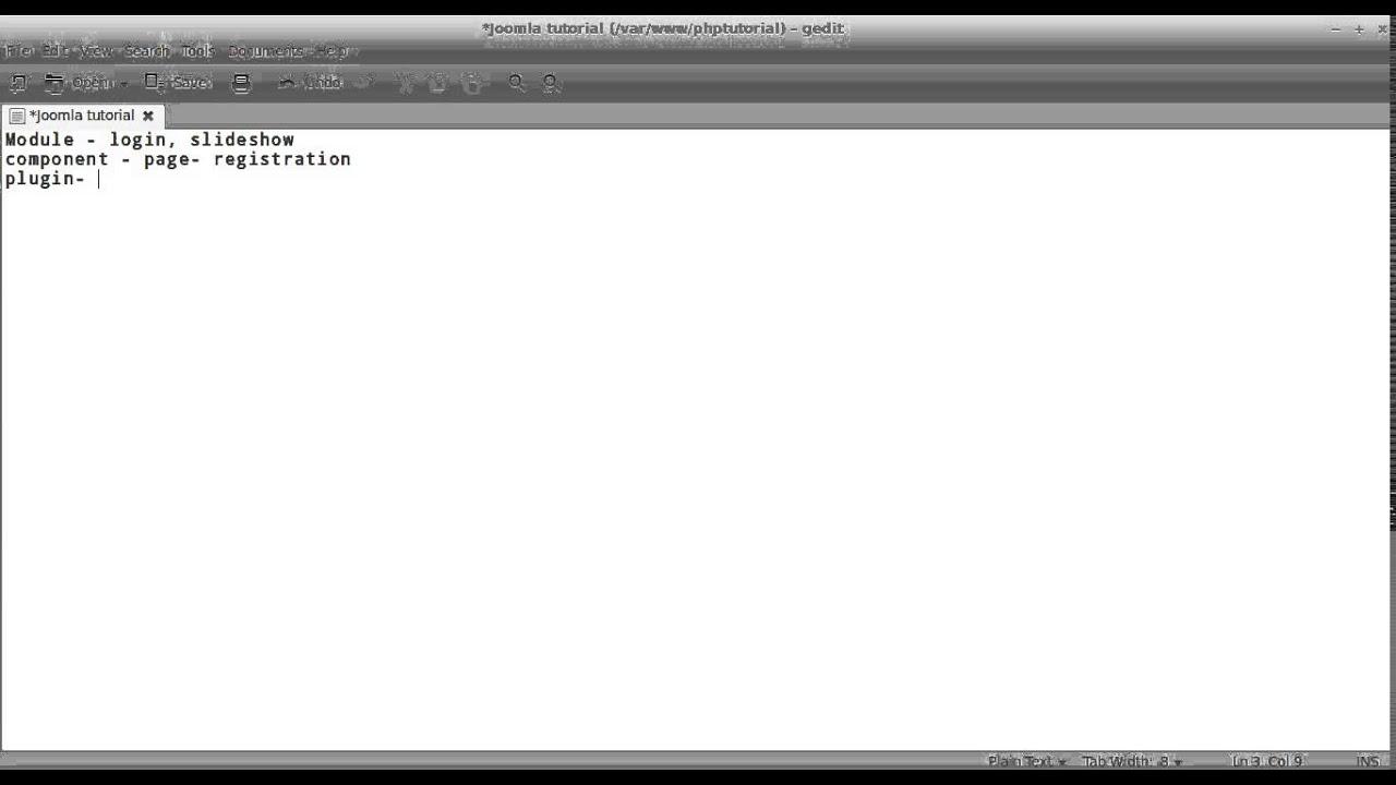 Joomla CMS- Part 1- Installation-Linux- Tamil - YouTube