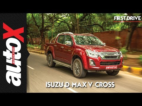 2019 Isuzu D-Max V-Cross facelift goes high end | First Drive Review | autoX