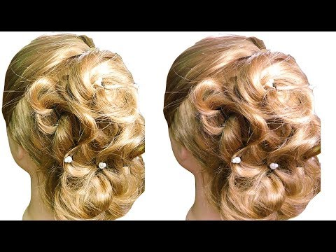 Easy Hairstyles for Medium Length Hair step by step 🌺 Easy Hairstyles for Girls