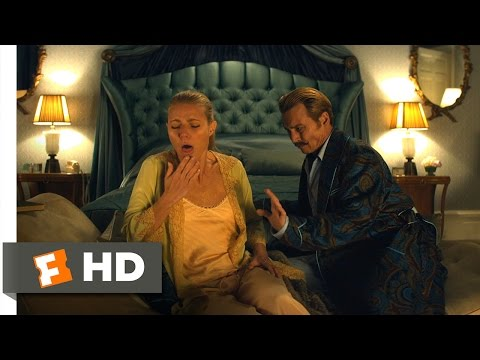 Mortdecai 110 Movie   A Sympathetic Gag Reflex 2015 HD