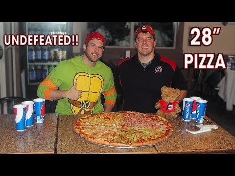 UNDEFEATED PIZZA CHALLENGE W/ MAGIC MITCH!!
