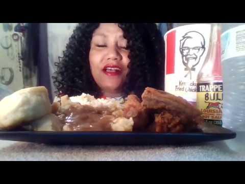 Trailer KFC Collab Eating with Val, Tingling Sensations  Muk-bang 💋