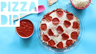 Healthy Pizza Dip Recipe | How To Make A Healthy High Protein Pizza Dip