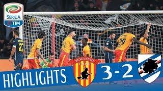Benevento - Sampdoria 3-2 - Highlights - Giornata 20 - Serie A TIM 2017/18