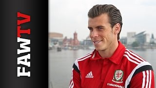 Gareth Bale speaks about life in the Wales camp