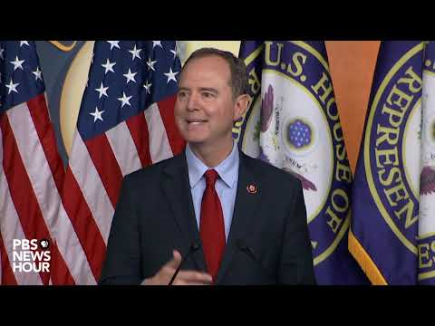 WATCH: Pelosi, Schiff say House isn't calling for formal House impeachment vote