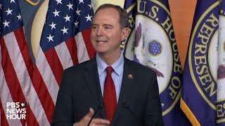 WATCH: Schiff, Pelosi say House will not yet call for formal Trump impeachment vote