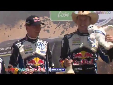 Highlights - 2016 WRC Rally Mexico - Best-of-RallyLive.com