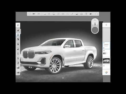 How I Made A BMW Pickup Truck
