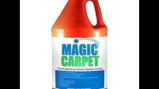 MAGIC CARPET - (Carpet Care Products)